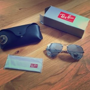 New in box!  Never worn Ray-Bans